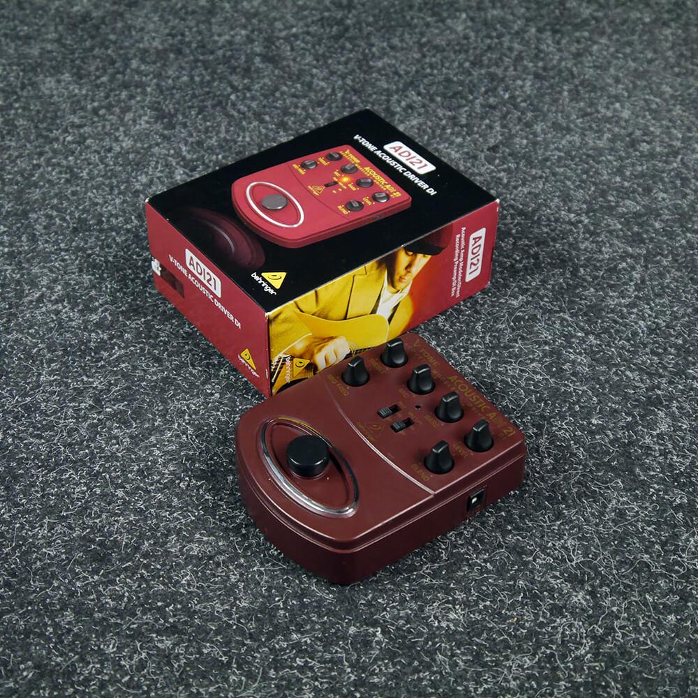 Behringer ADI21 V-Tone Acoustic Driver FX Pedal w/Box - 2nd Hand