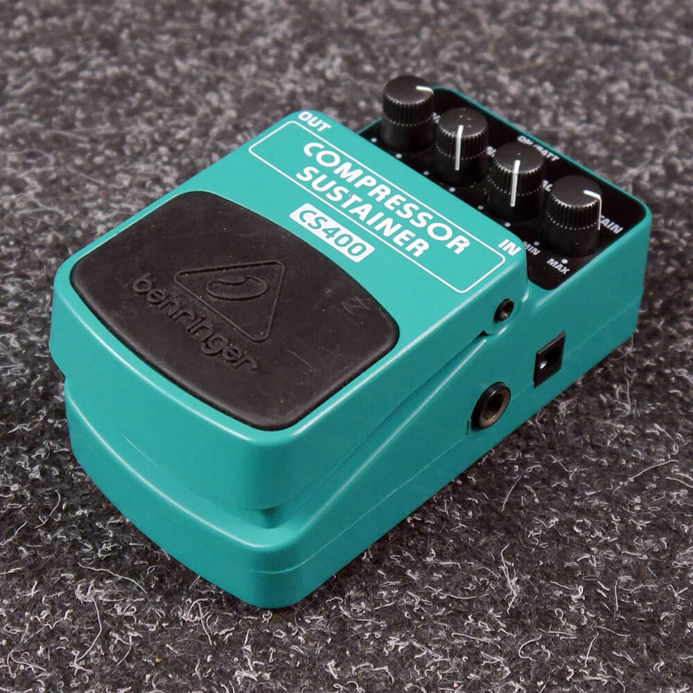 Behringer CS400 Compressor/Sustainer FX Pedal - 2nd Hand