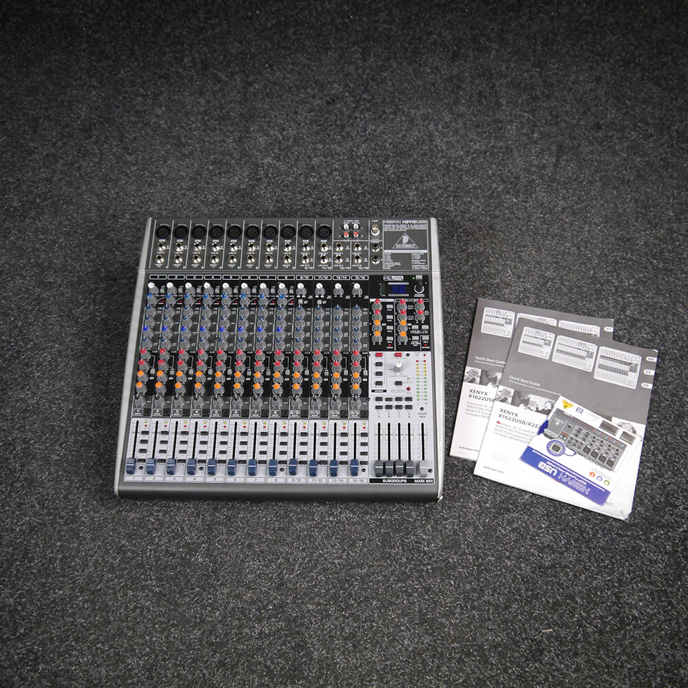 Behringer X2442USB 24 Input USB Analogue Mixer - 2nd Hand **COLLECTION ONLY**