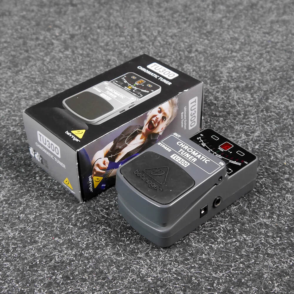 Behringer TU300 Tuner Pedal w/Box - 2nd Hand