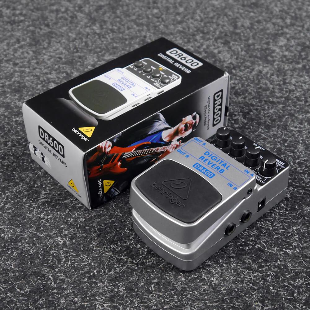 Behringer DR600 Digital Reverb w/Box - 2nd Hand