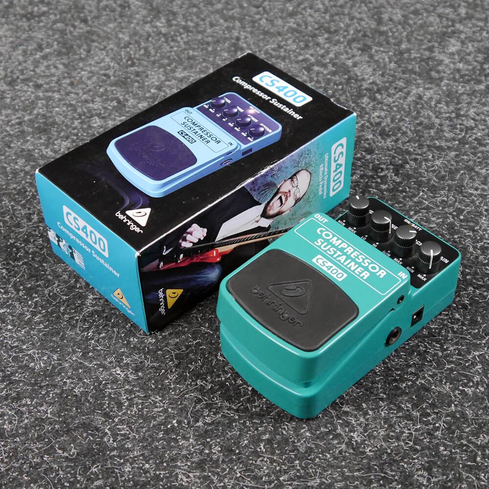 Behringer CS400 Compressor/Sustainer FX Pedal w/Box - 2nd Hand