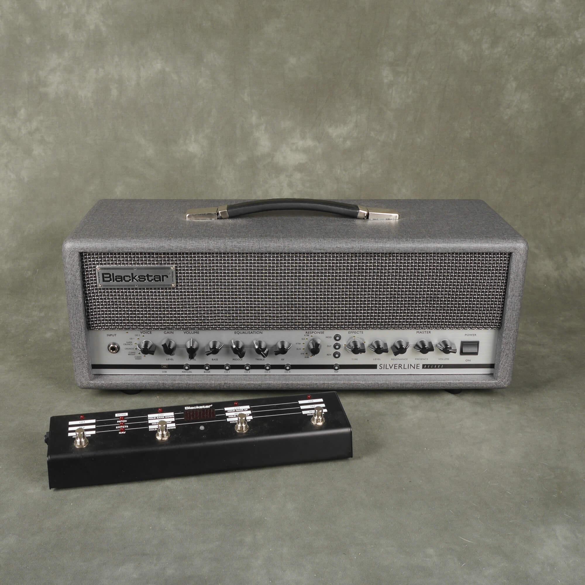 Blackstar Silverline Deluxe 100w Amp Head w/FS10 Footswitch - 2nd Hand