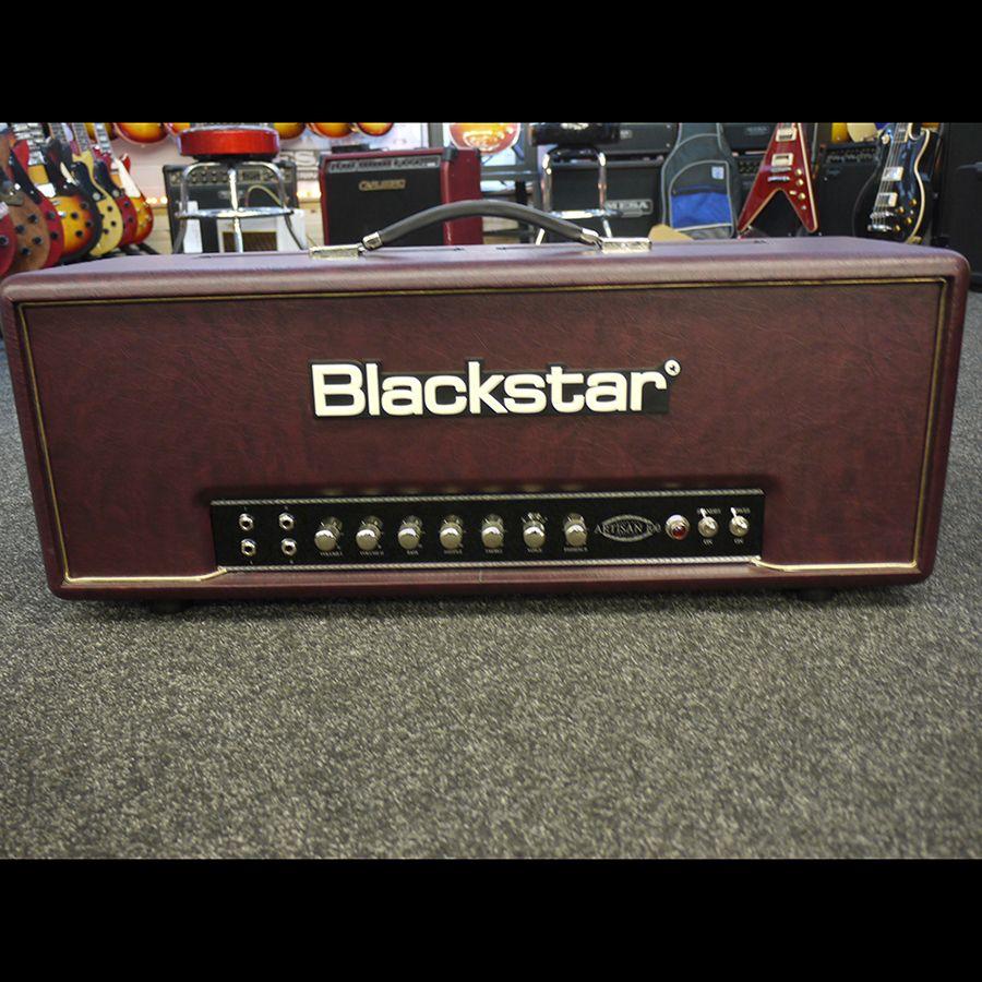 blackstar artisan 100 guitar amp head w cover 2nd hand rich tone music. Black Bedroom Furniture Sets. Home Design Ideas