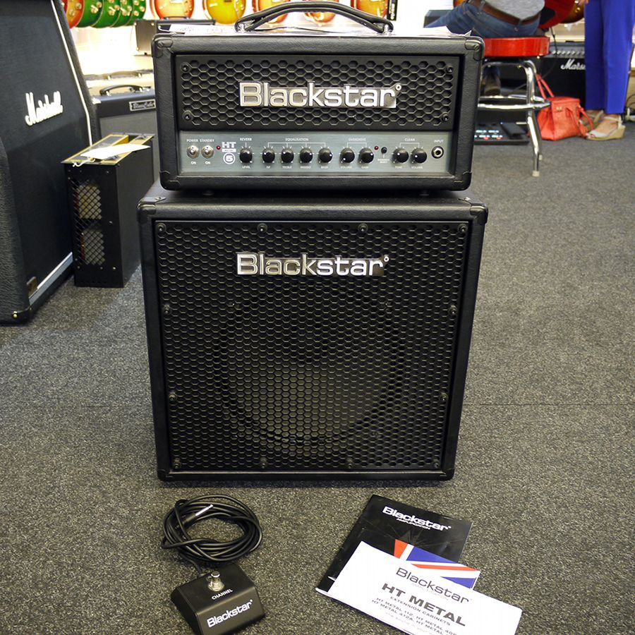 Blackstar Ht Metal 5 Head And Ht 112 Cabinet 2nd Hand