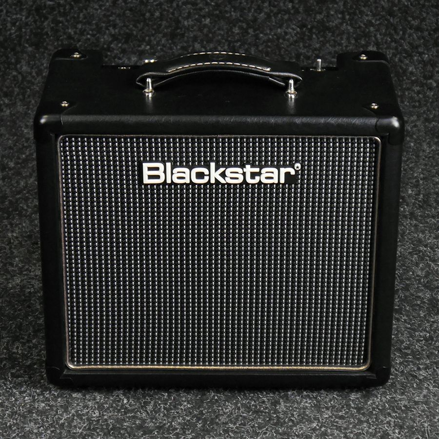 blackstar ht 1 1 watt combo guitar amp 2nd hand rich tone music. Black Bedroom Furniture Sets. Home Design Ideas