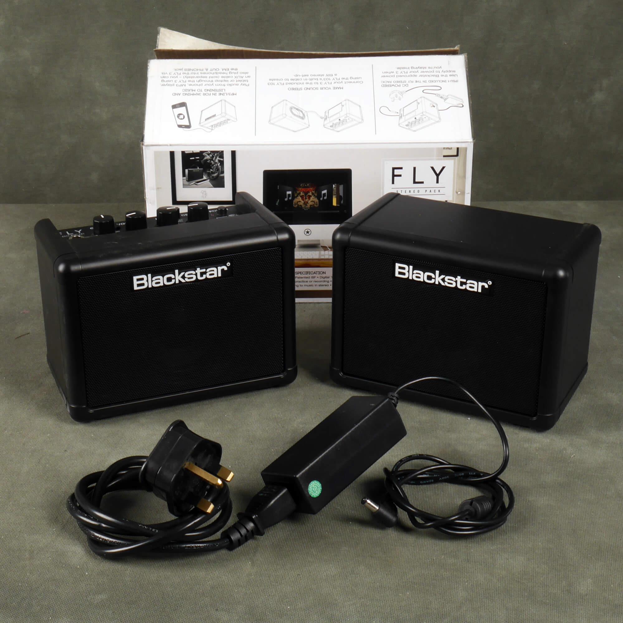 Blackstar Fly 3 Stereo Pack w/Box & PSU - 2nd Hand