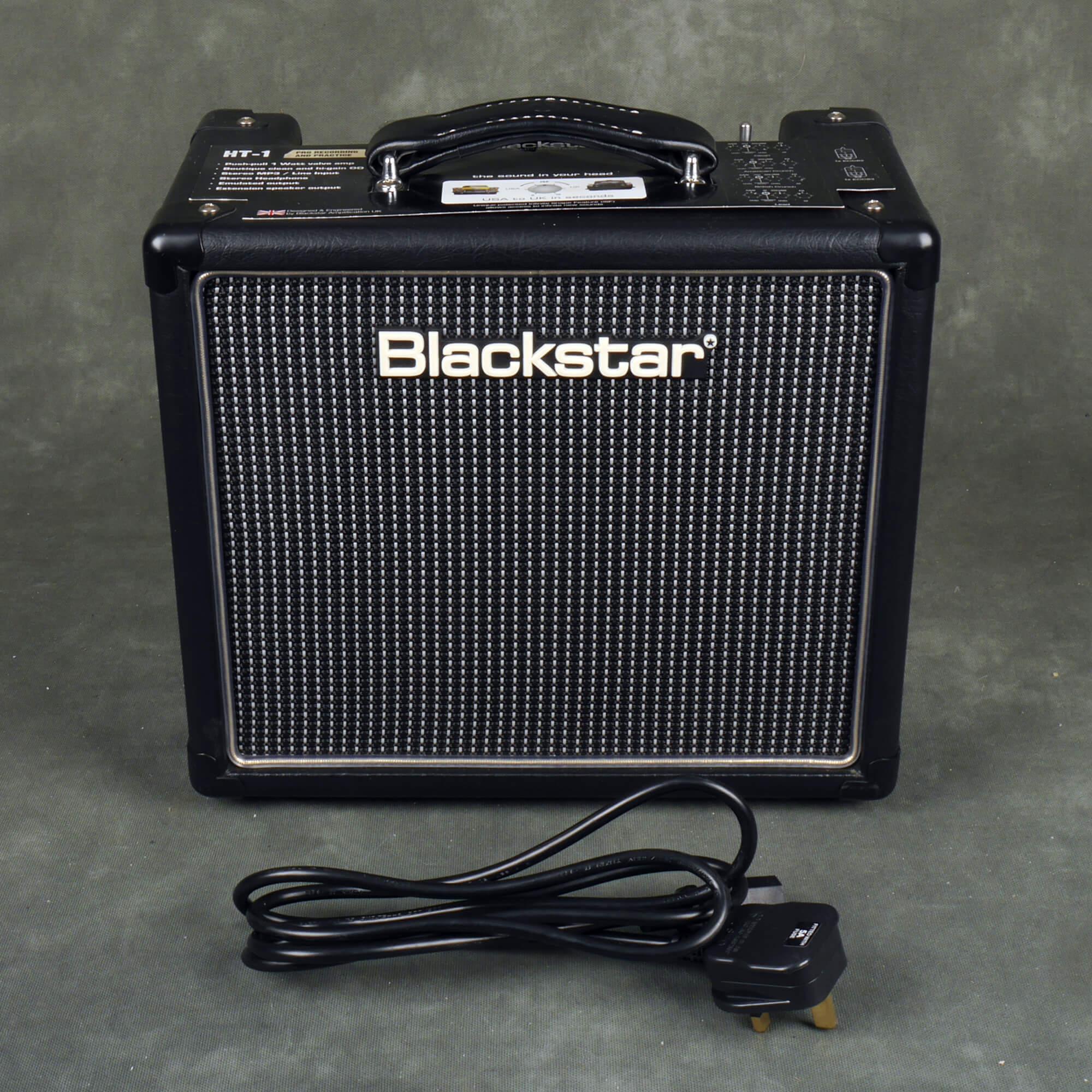 Blackstar HT-1 1 Watt Valve Guitar Amplifier - 2nd Hand
