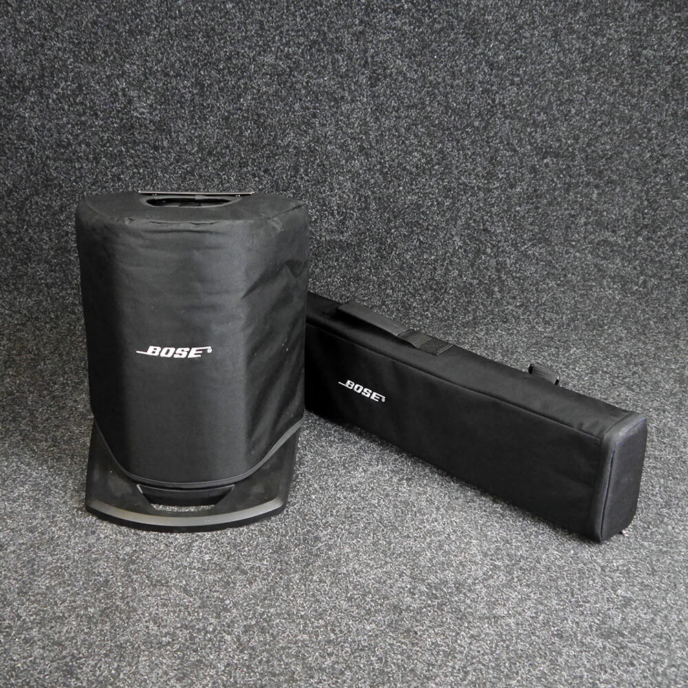 bose l1 compact with covers w cover 2nd hand rich tone music. Black Bedroom Furniture Sets. Home Design Ideas