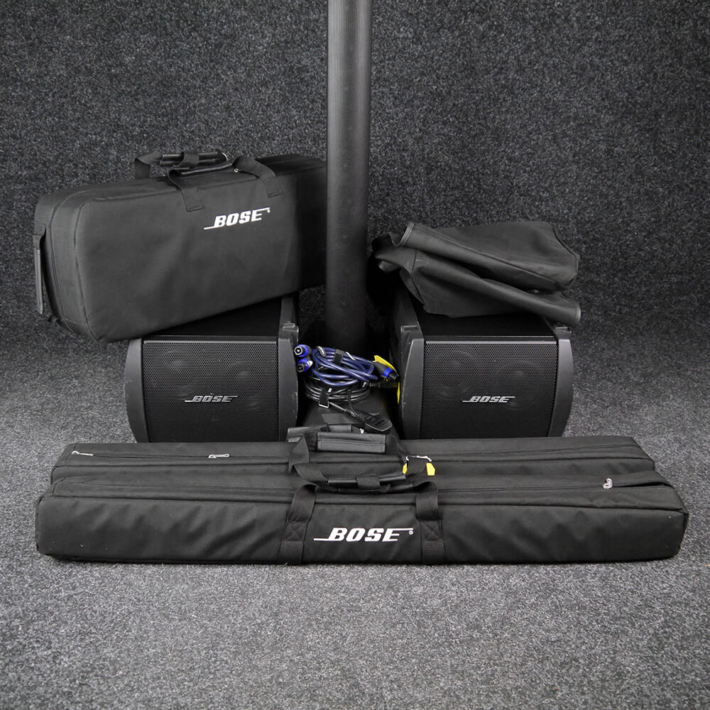 Bose L1 Model II System and 2x B1 Bass Modules w/Cover - 2nd Hand