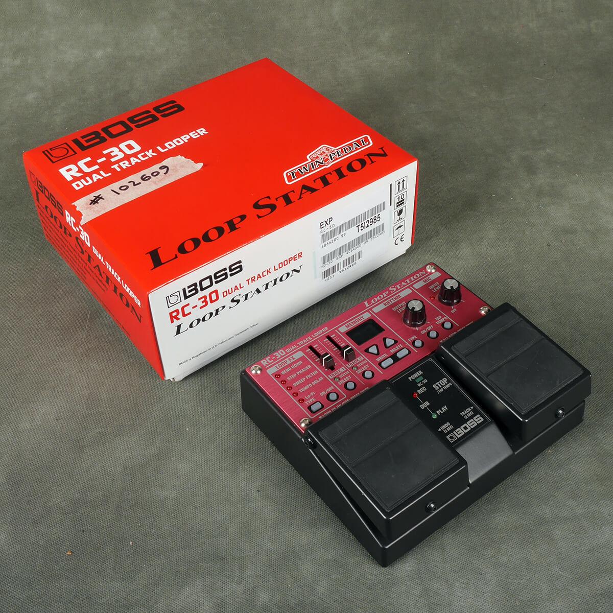Boss RC-30 Looper FX Pedal w/Box - 2nd Hand