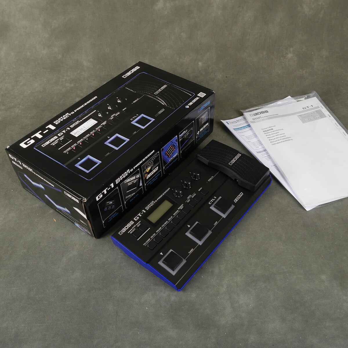 Boss GT-1 Multi FX Pedal w/Box - 2nd Hand