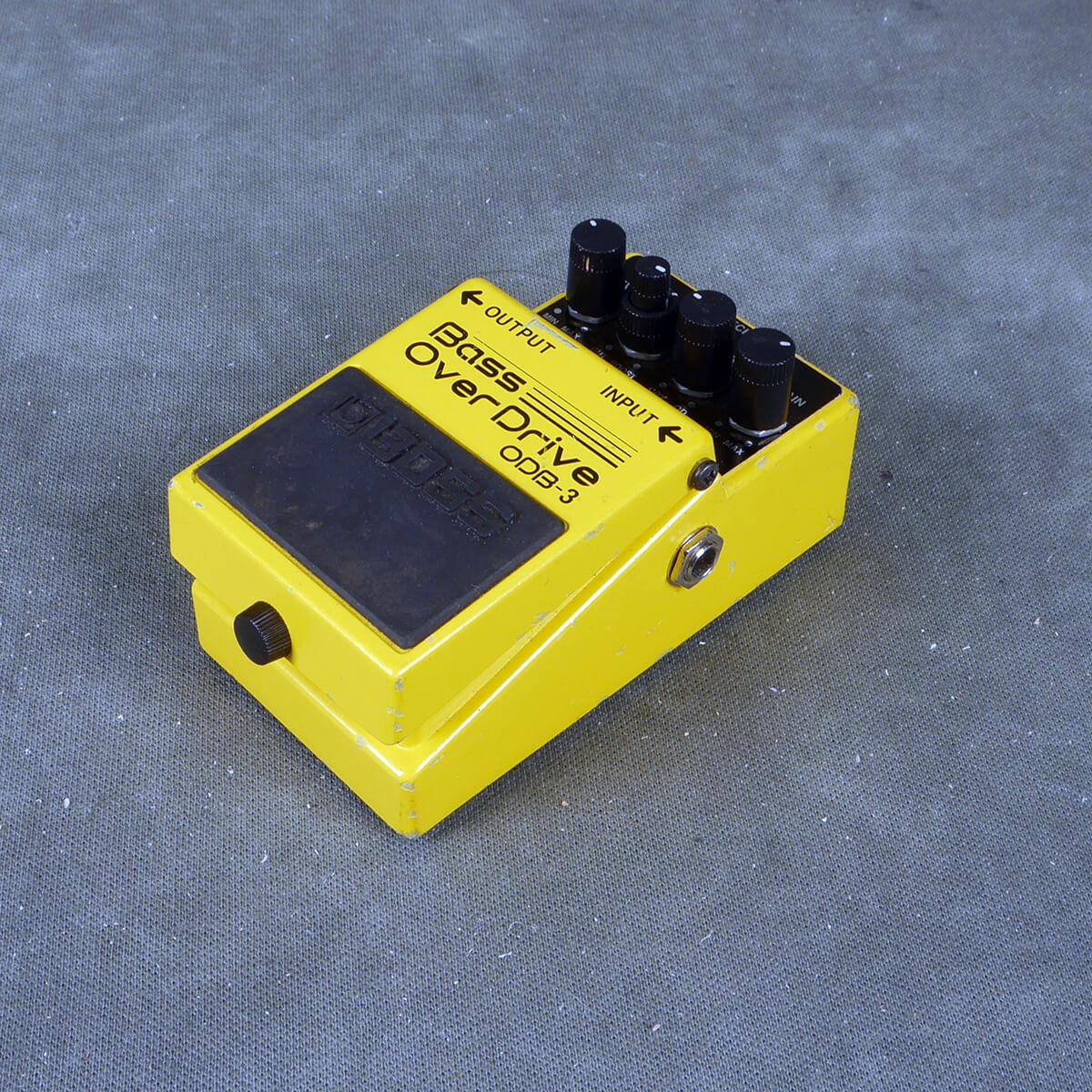 Boss ODB-3 Bass Overdrive FX Pedal - 2nd Hand