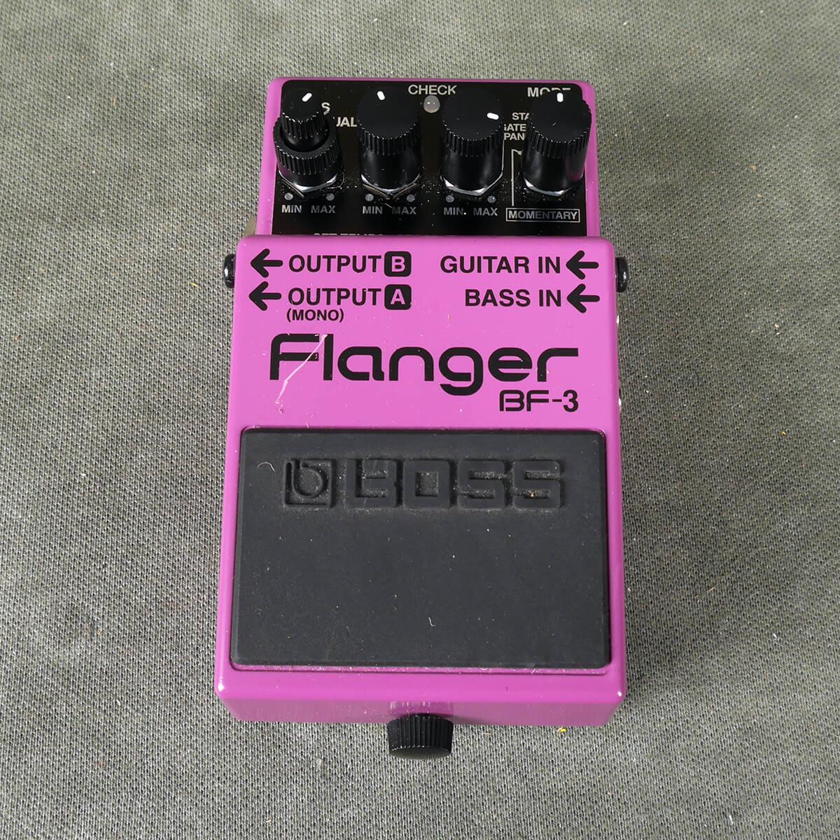 Boss BF-3 Flanger FX Pedal - 2nd Hand