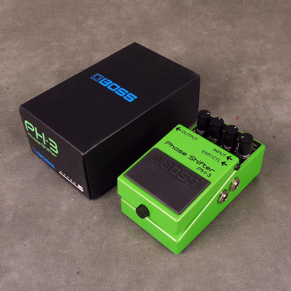 Boss PH-3 Phase Shifter FX Pedal w/Box - 2nd Hand