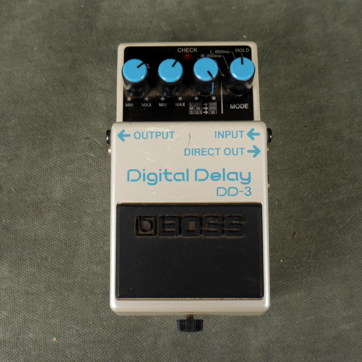 Boss DD-3 Digital Delay FX Pedal - 2nd Hand