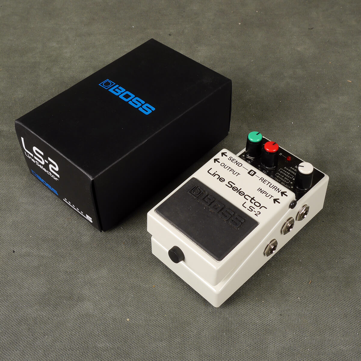 Boss LS-2 Line Selector FX Pedal w/Box - 2nd Hand