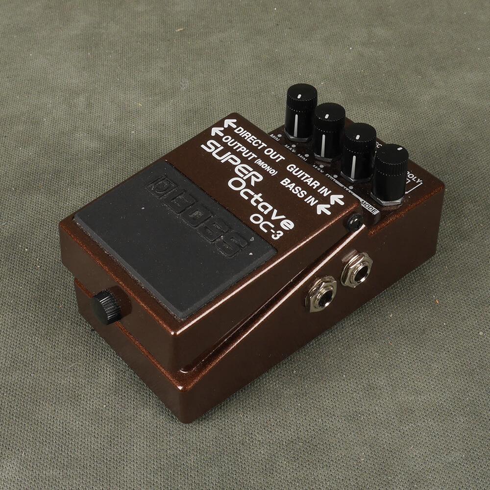 Boss OC-3 Super Octave FX Pedal - 2nd Hand