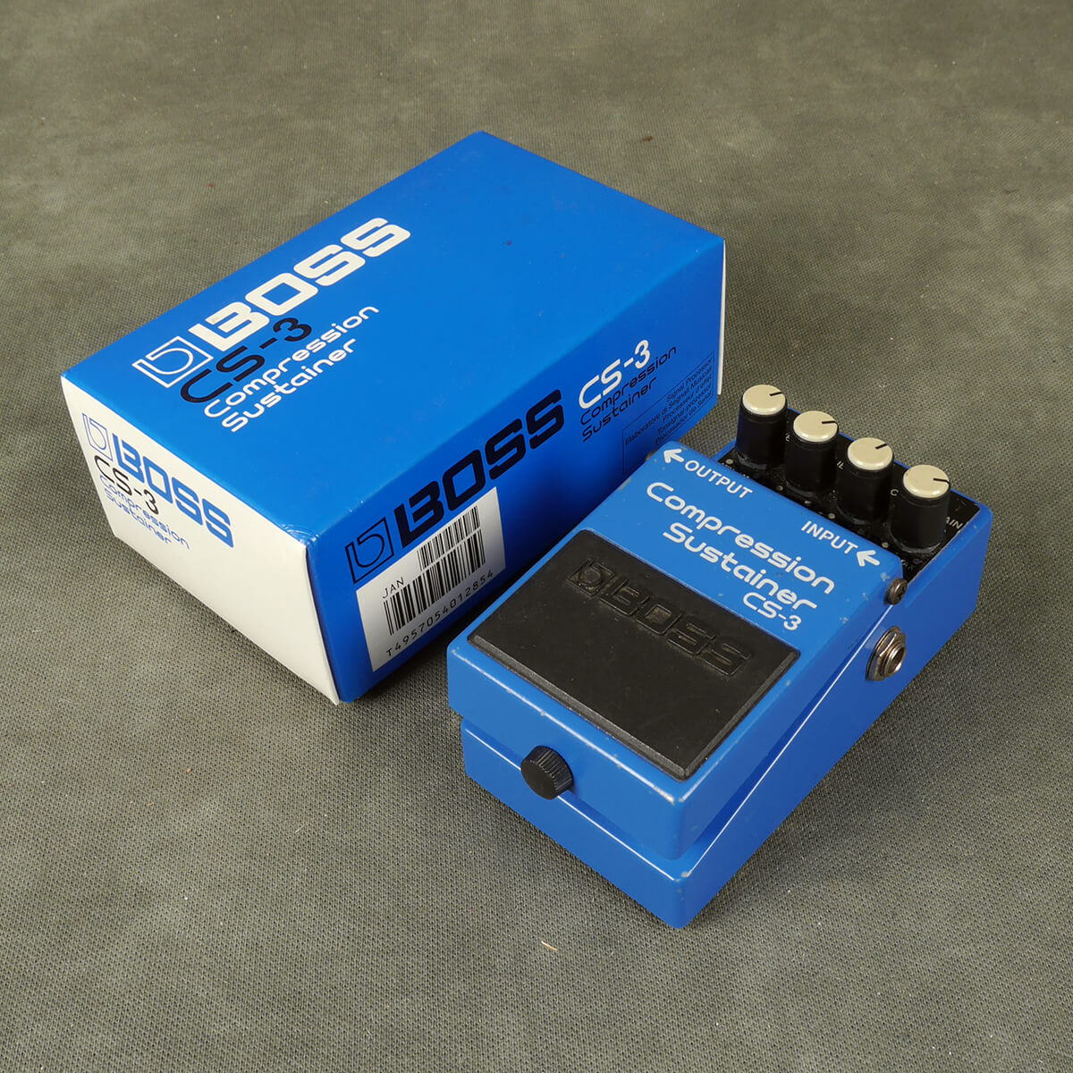Boss CS-3 Compressor FX Pedal w/Box - 2nd Hand