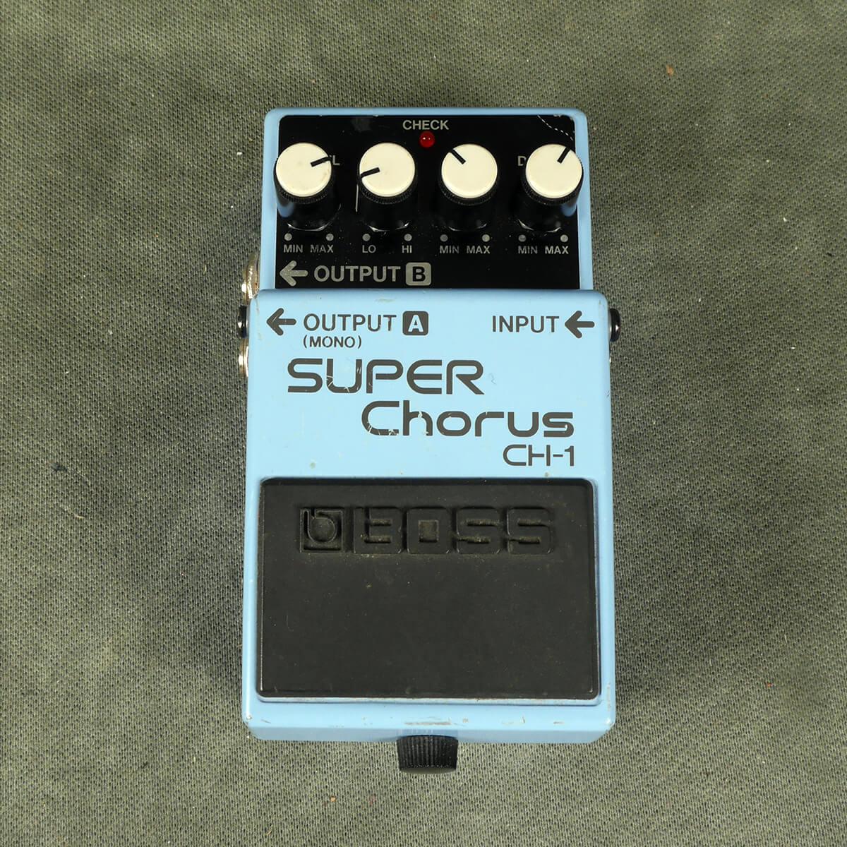 Boss CH-1 Super Chorus FX Pedal - 2nd Hand