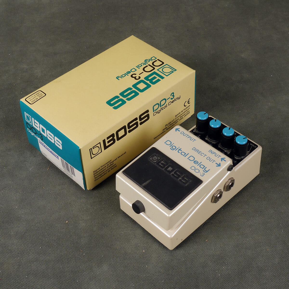 Boss DD-3 Digital Delay FX Pedal w/Box - 2nd Hand