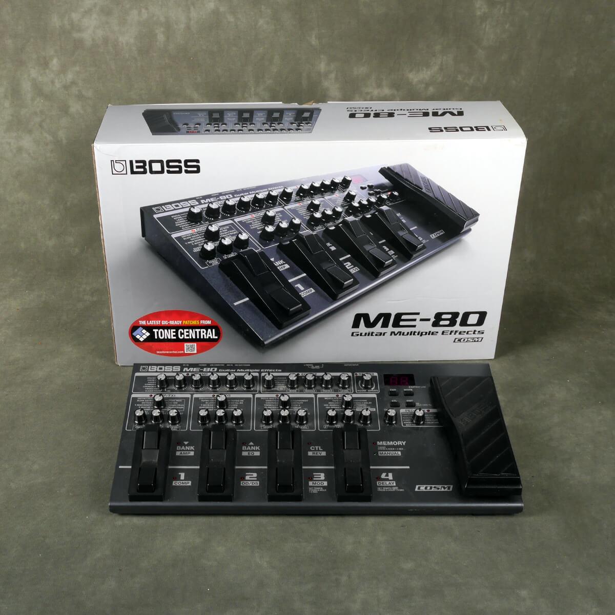 Boss ME-80 Multi FX Pedal w/Box - 2nd Hand