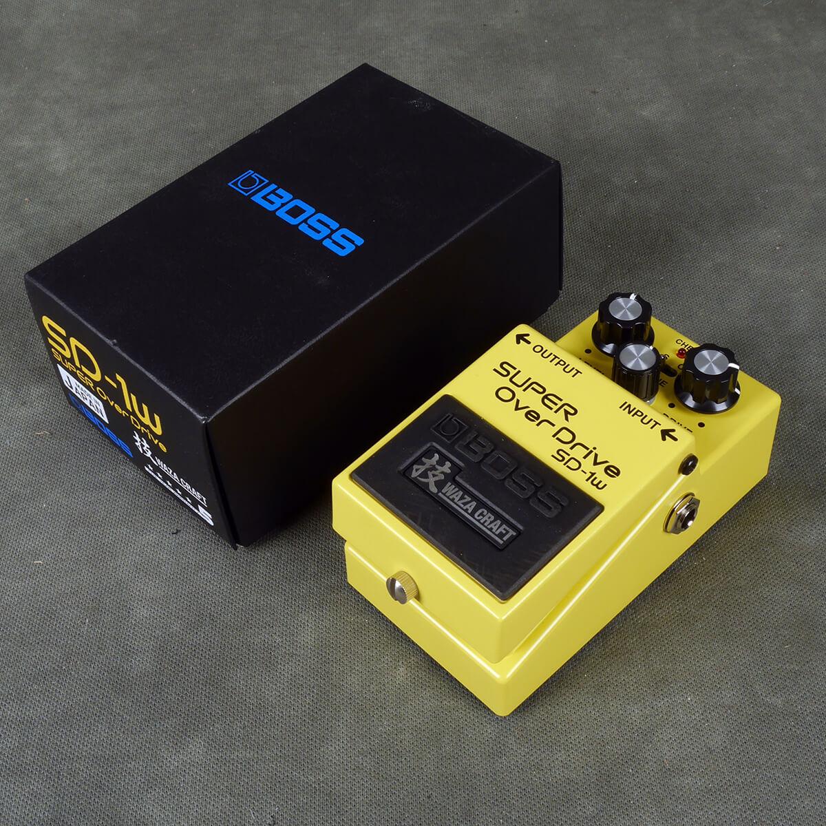 Boss SD-1W Waza Overdrive FX Pedal w/Box - 2nd Hand