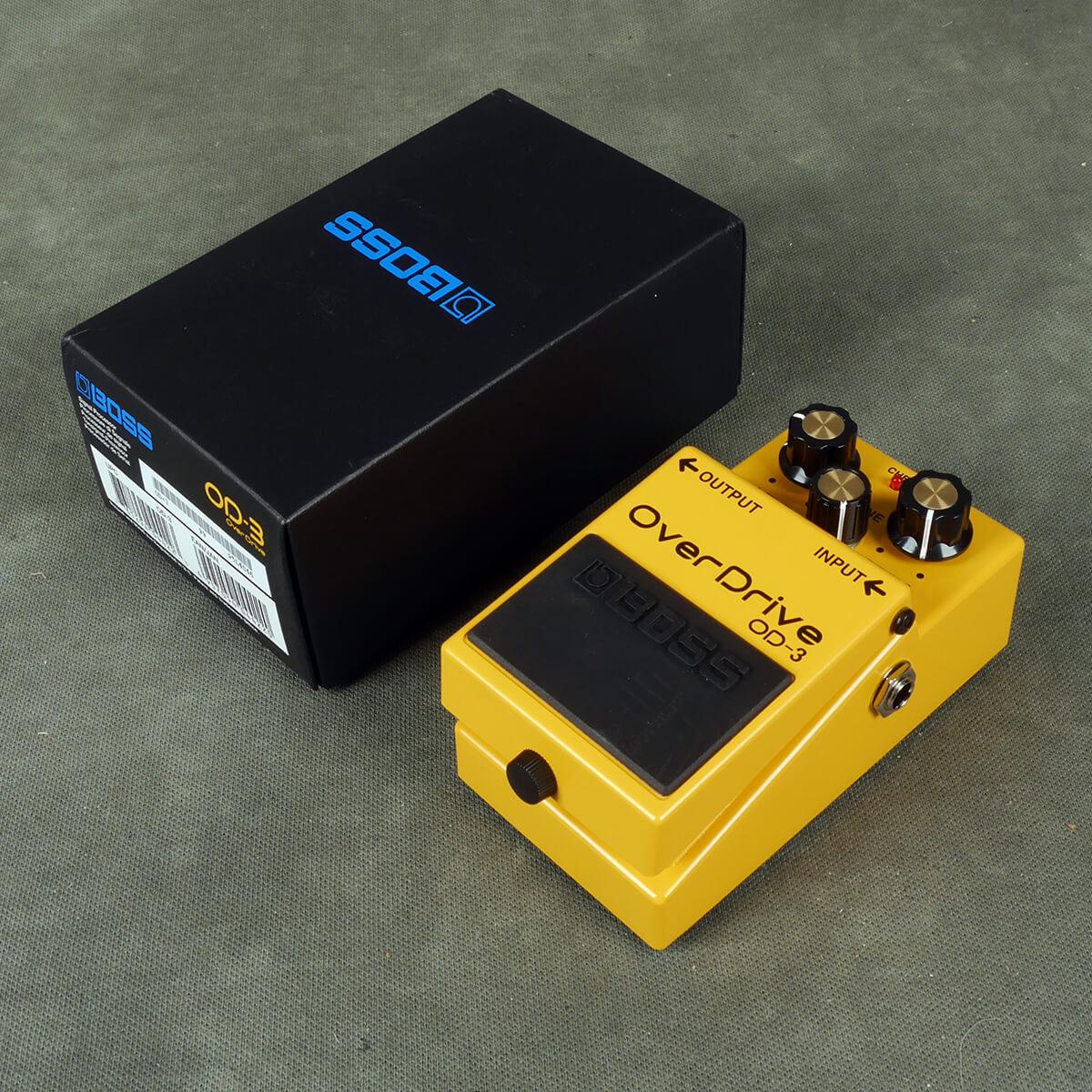 Boss OD-3 Overdrive FX Pedal w/Box - 2nd Hand