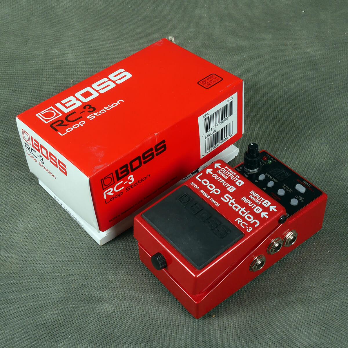 Boss RC-3 Looper FX Pedal w/Box - 2nd Hand