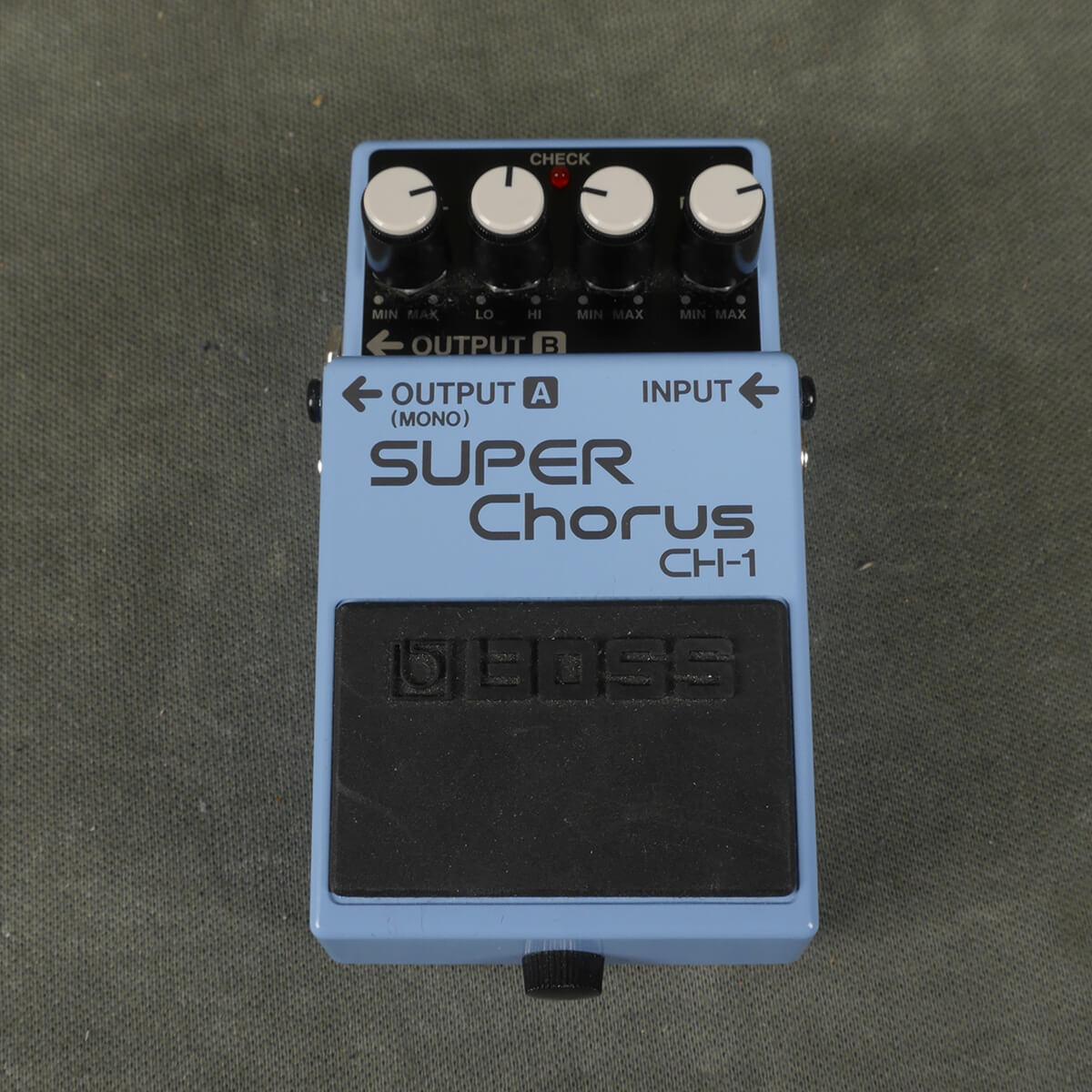 BOSS CH-1 Chorus FX Pedal - 2nd Hand