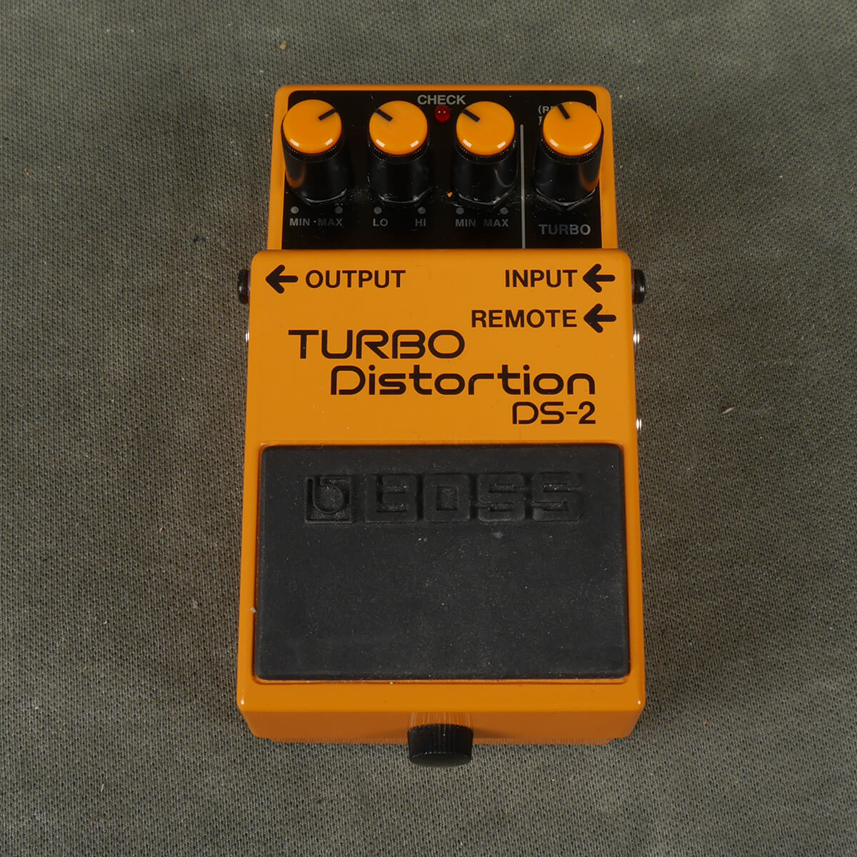 BOSS DS-2 Turbo Distortion FX Pedal - 2nd Hand