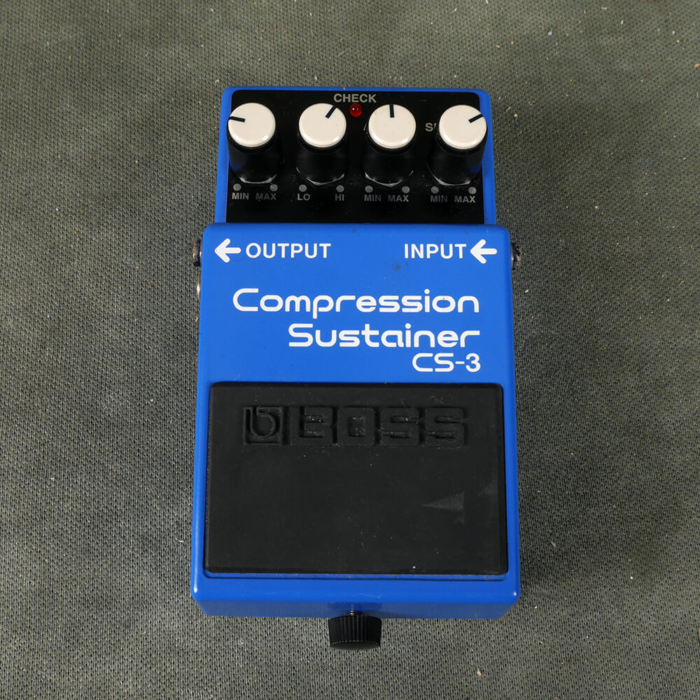 Boss CS-3 Compression/Sustain FX Pedal - 2nd Hand