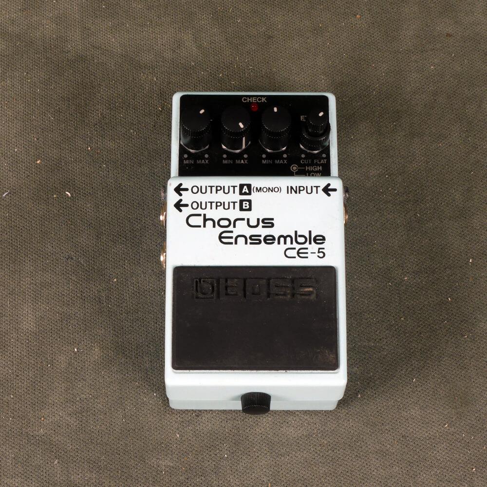 Boss CE-5 Chorus Ensemble FX Pedal - 2nd Hand