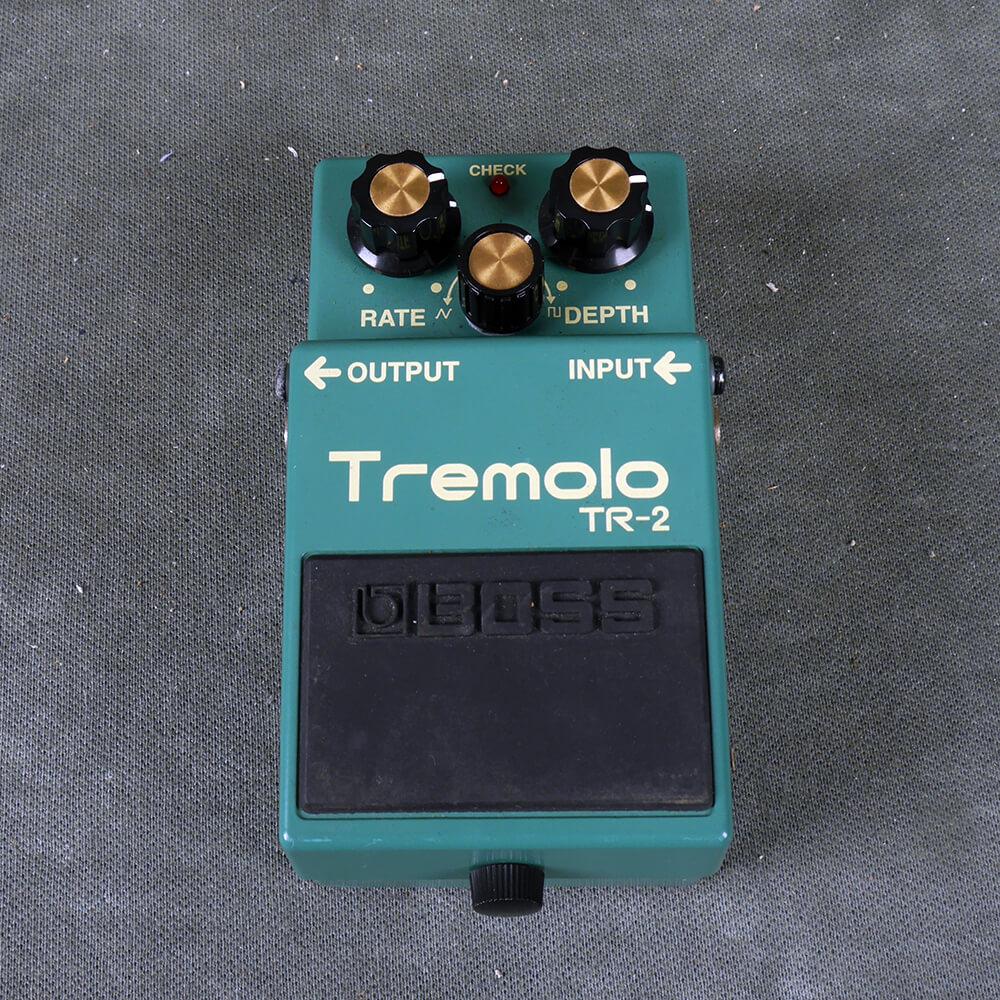 Boss TR-2 Tremolo FX Pedal - 2nd Hand