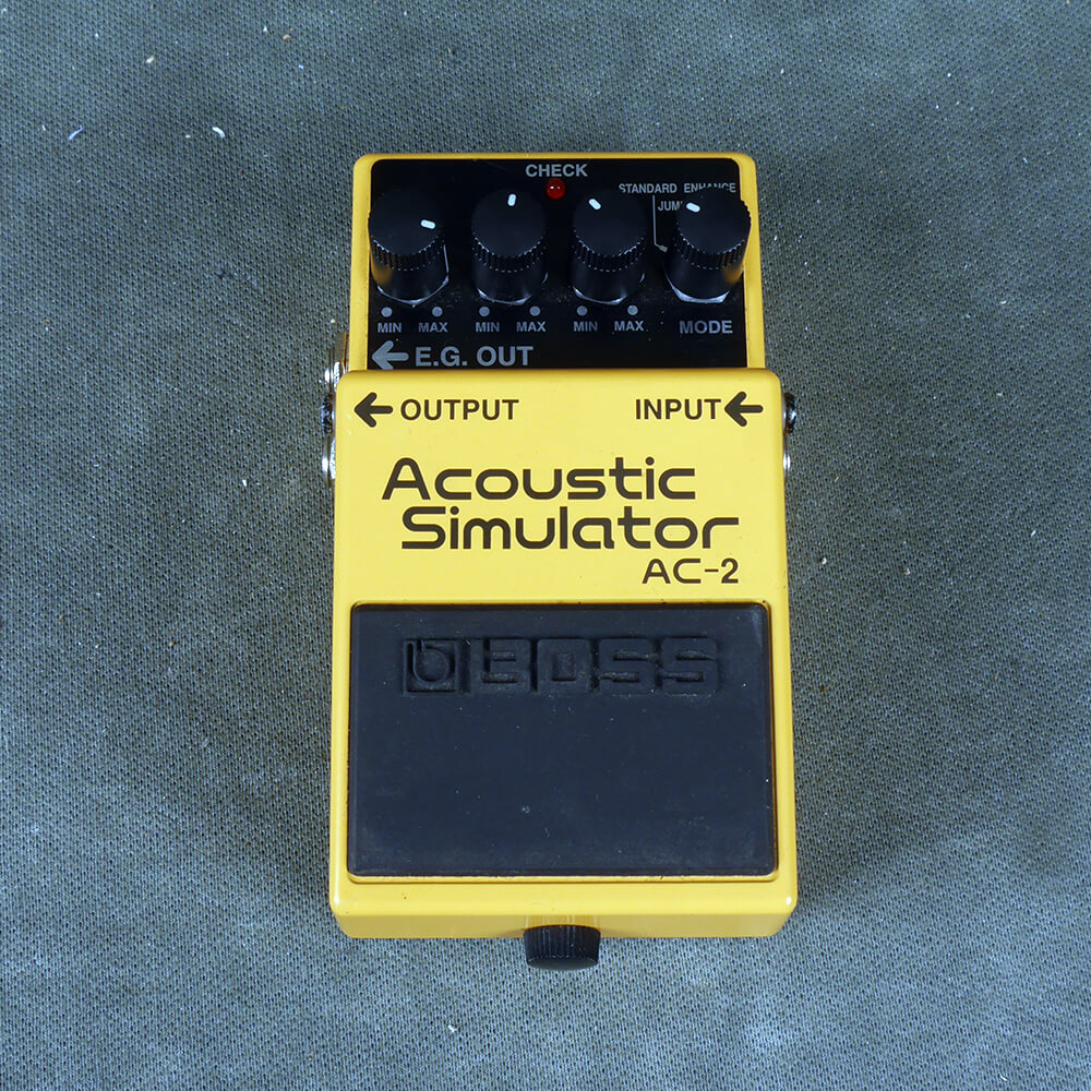 Boss AC-2 Acoustic Simulator FX Pedal - 2nd Hand