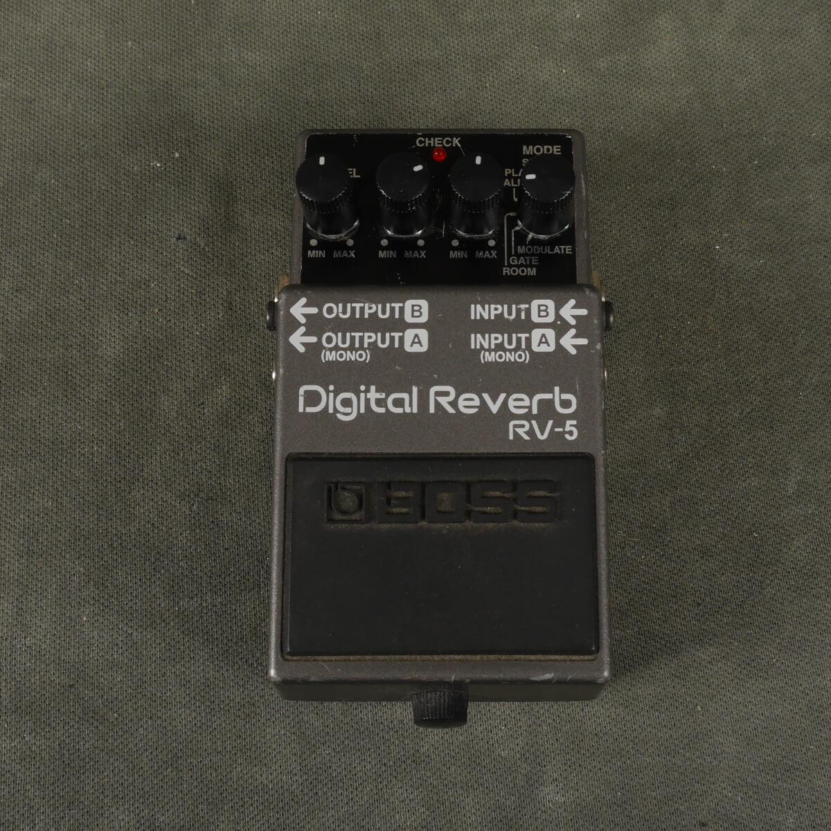 Boss RV-5 Digital Delay FX Pedal - 2nd Hand