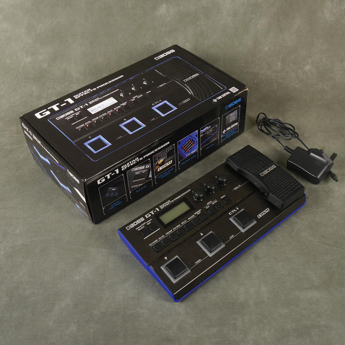 Boss GT-1 Guitar Multi FX w/Box & PSU - 2nd Hand