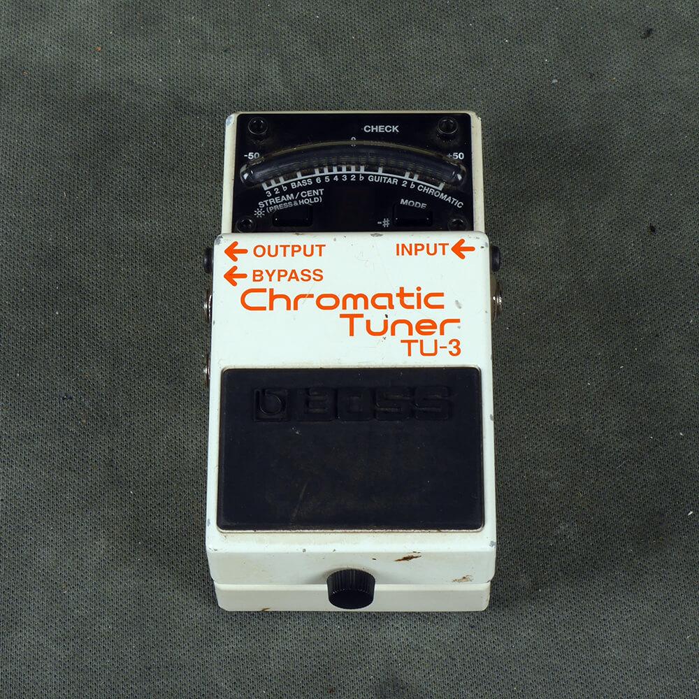 Boss TU-3 Tuner Pedal - 2nd Hand