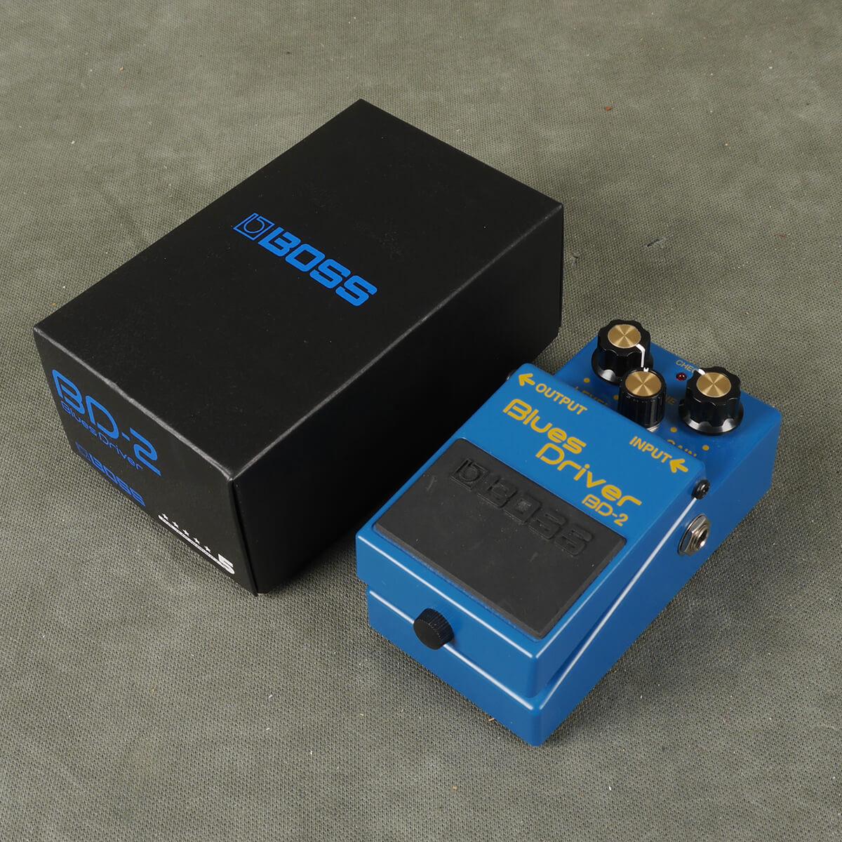 Boss BD-2 Blues Driver FX Pedal w/Box - 2nd Hand