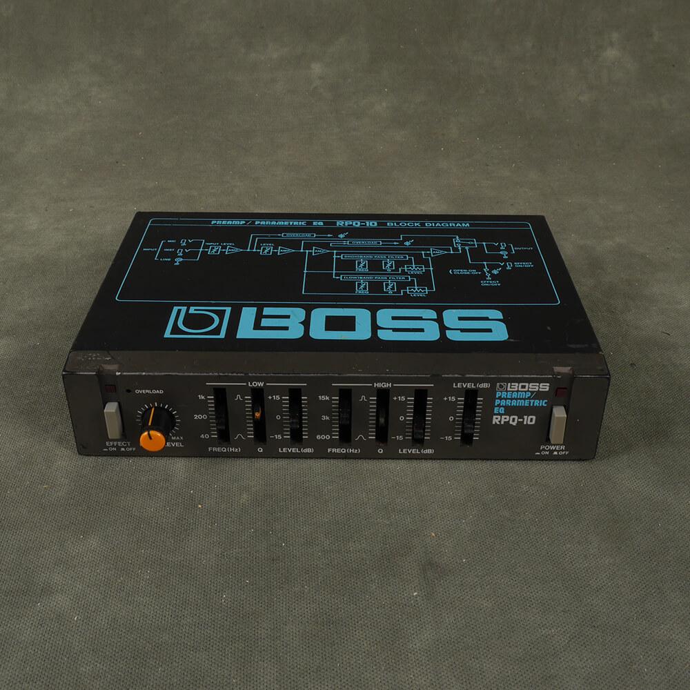 Boss RPQ-10 Micro Rack EQ Preamp - 2nd Hand