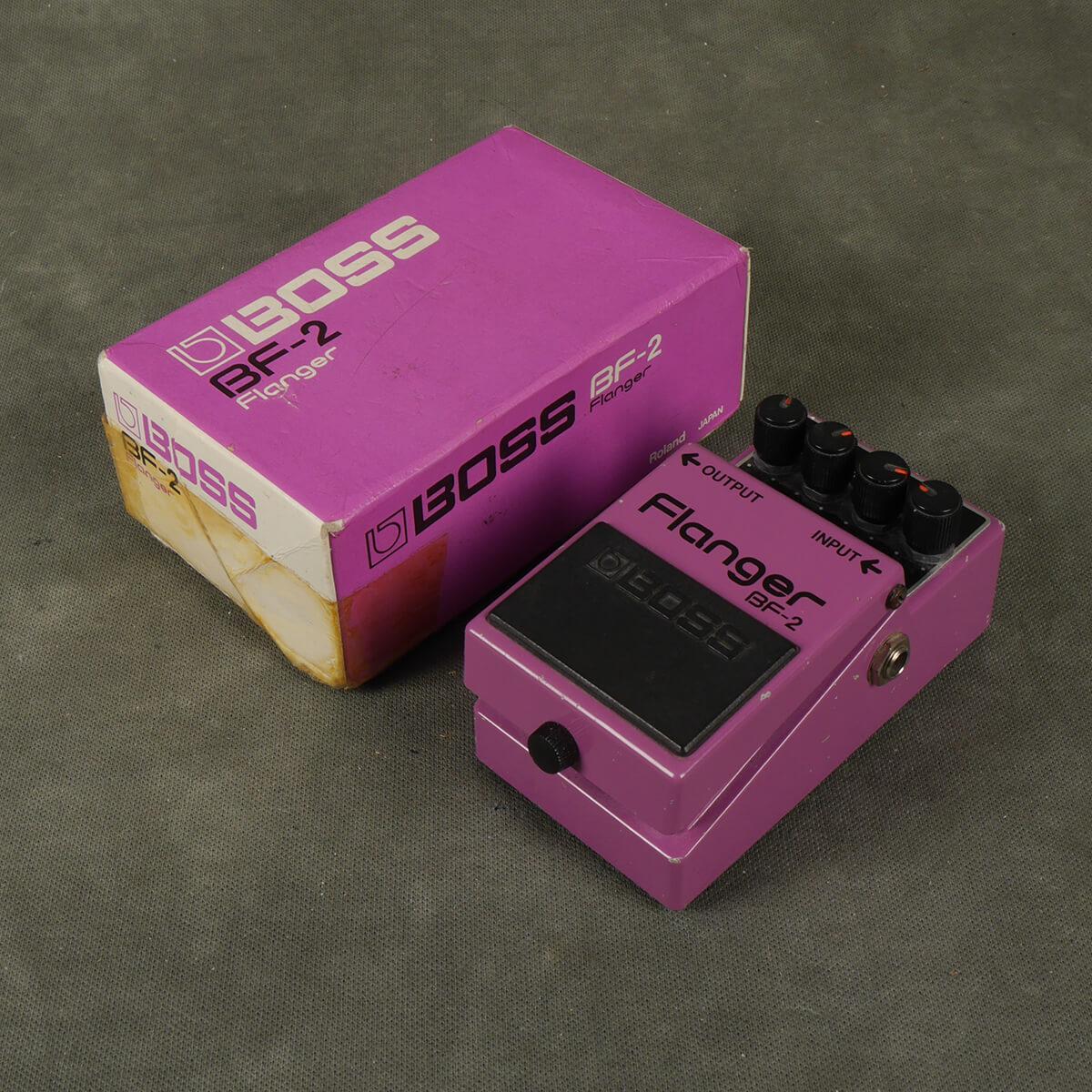 Boss BF-2 Flanger FX Pedal w/Box - 2nd Hand