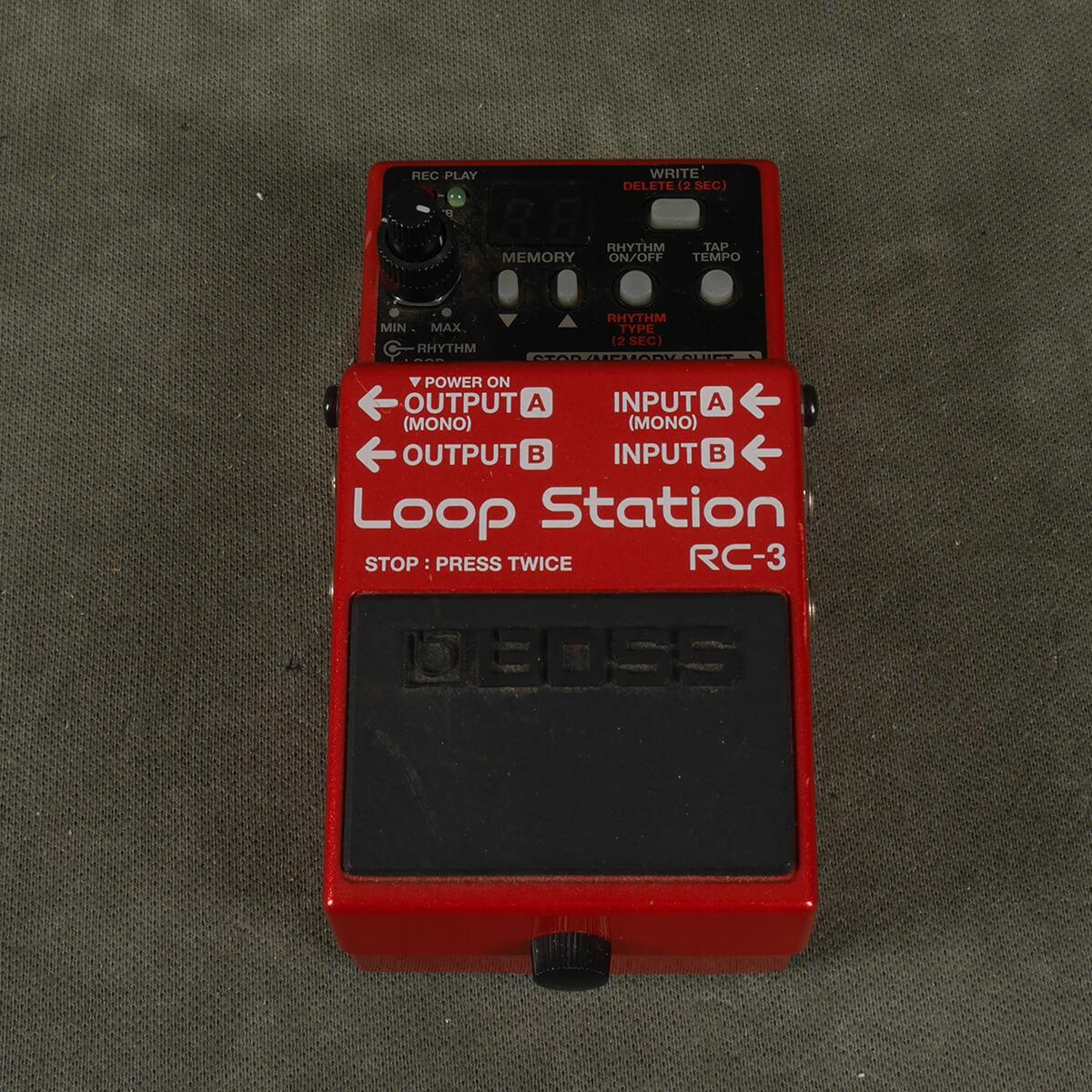 Boss RC-3 Looper FX Pedal - 2nd Hand