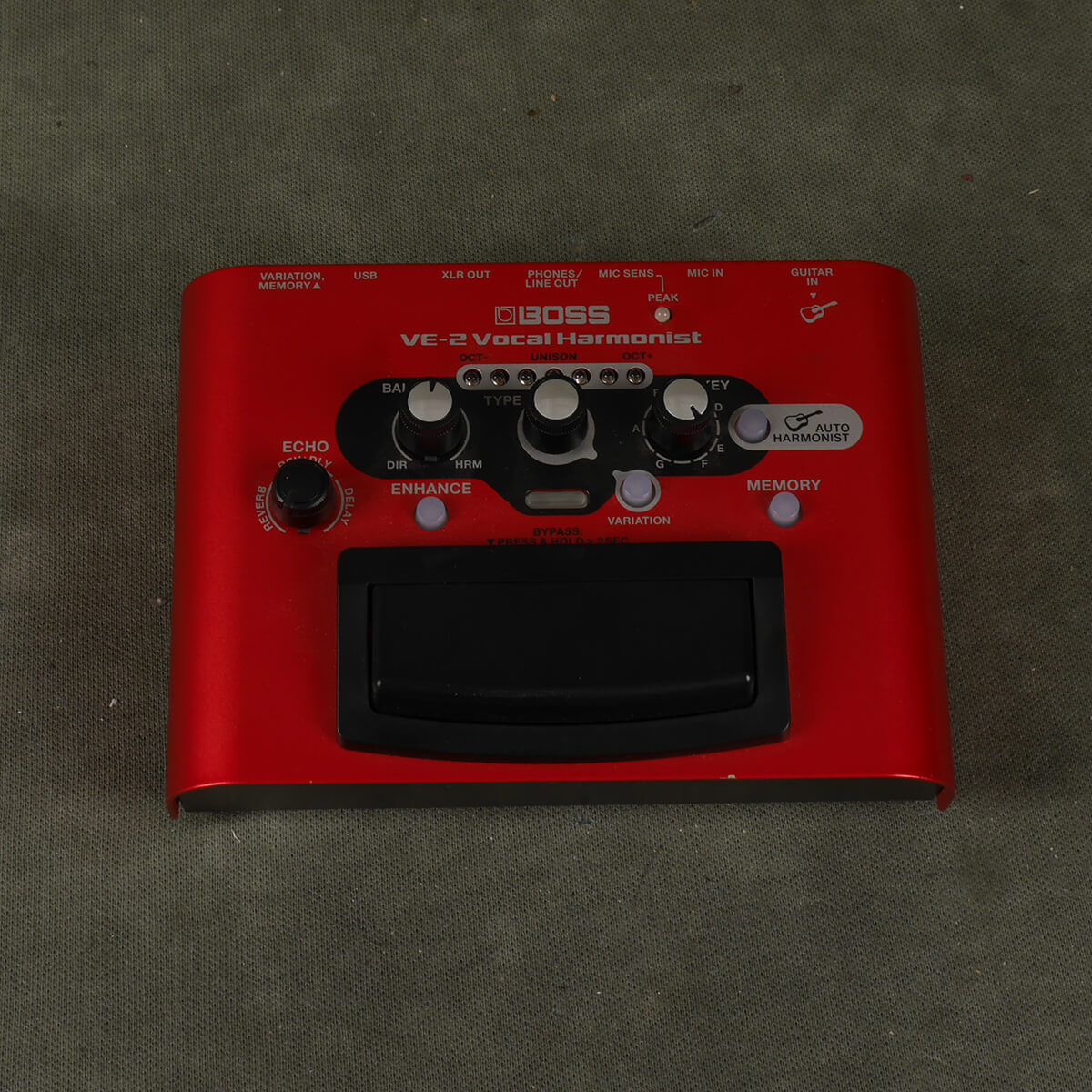 Boss VE-2 Vocal Harmonist FX Pedal - 2nd Hand