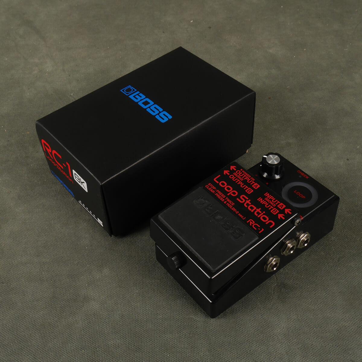 Boss RC-1 Looper FX Pedal - Ltd Edition Black w/Box - 2nd Hand