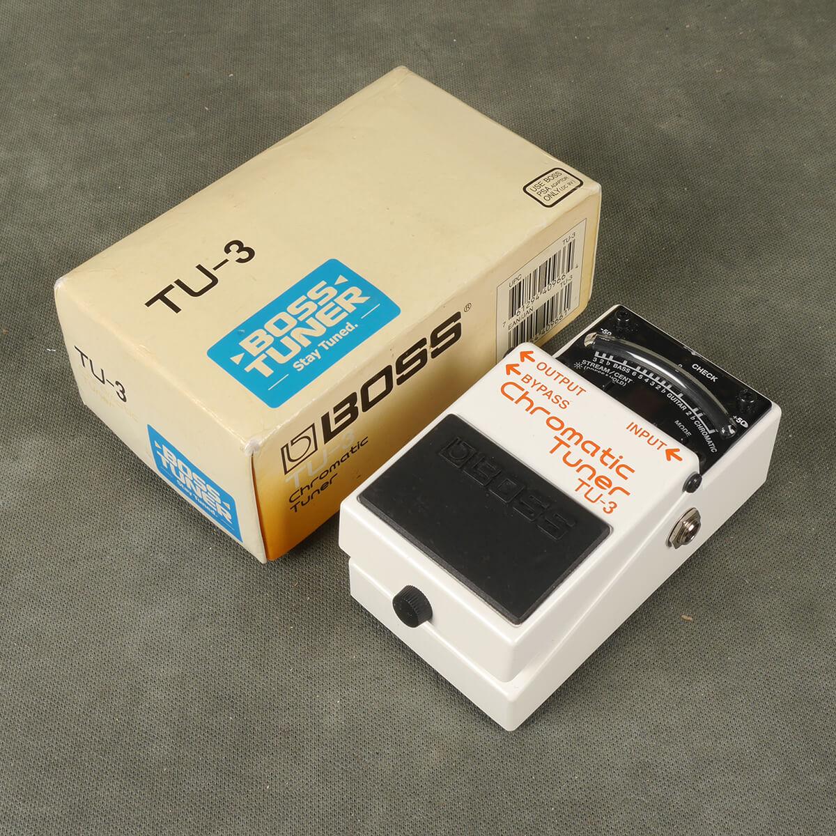 Boss TU-3 Tuner Pedal w/Box - 2nd Hand