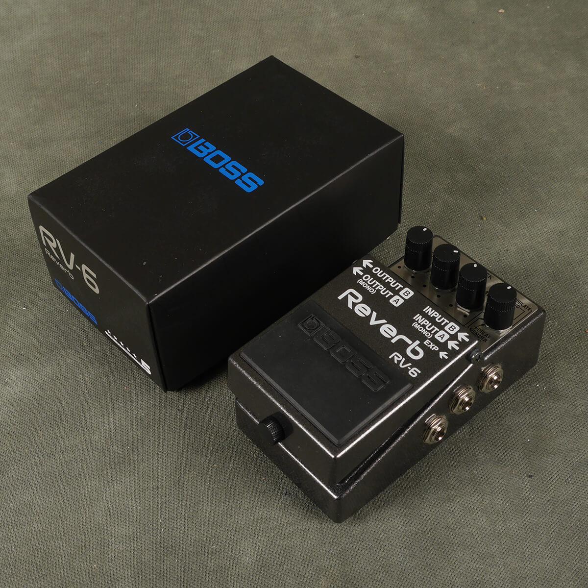 Boss RV-6 Reverb FX Pedal w/Box - 2nd Hand