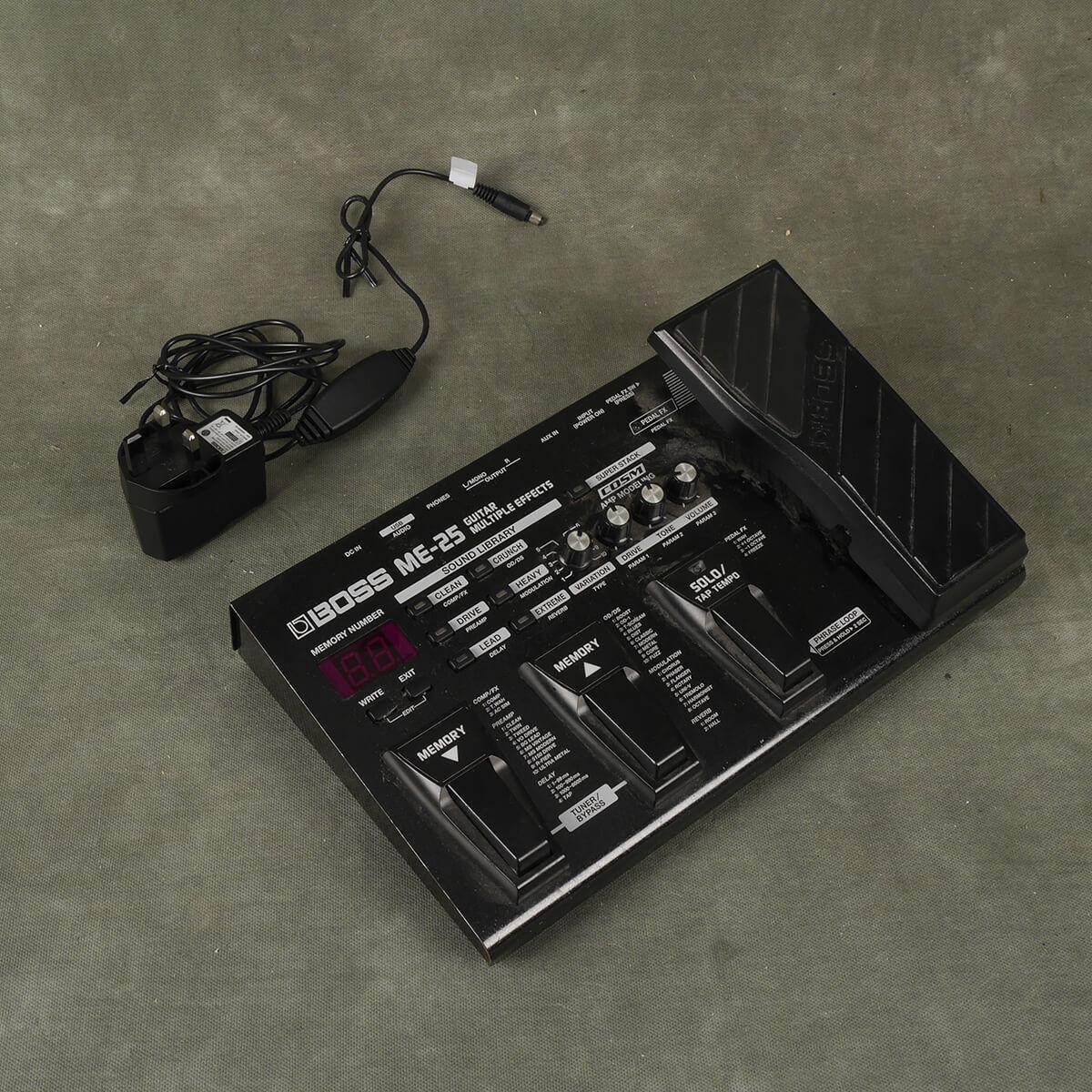 Boss ME-25 Multi FX & PSU - 2nd Hand