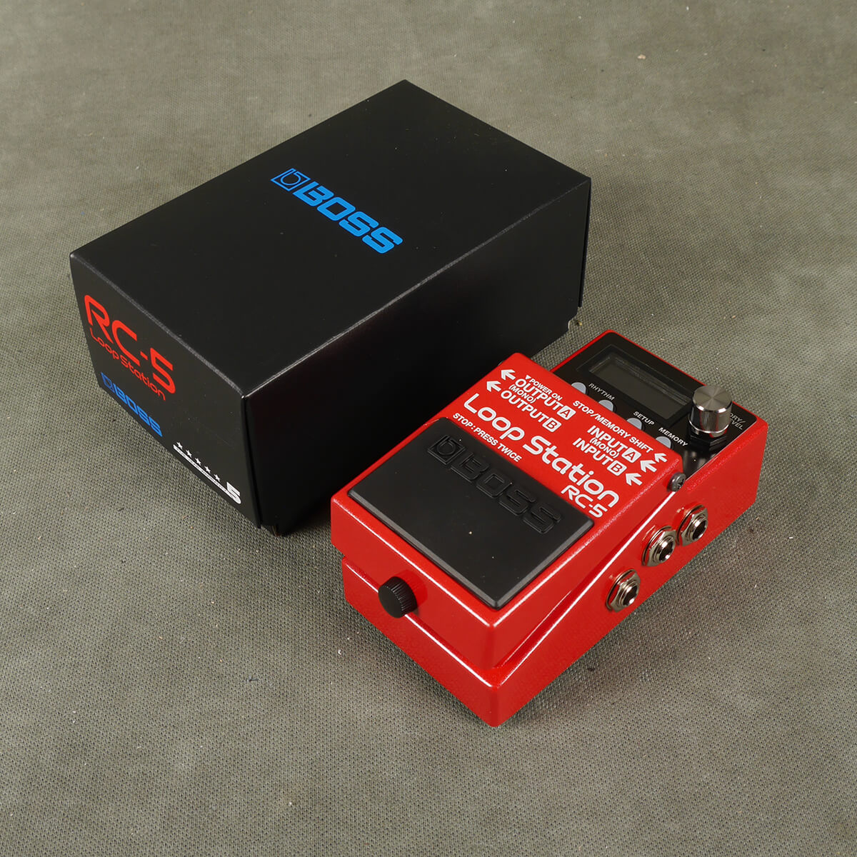 Boss RC-5 Loop Station FX Pedal w/Box - 2nd Hand