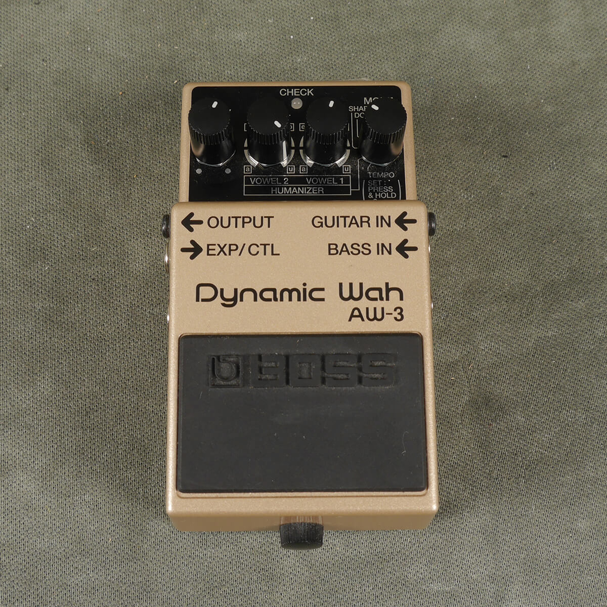 Boss AW-3 Auto Wah FX Pedal - 2nd Hand