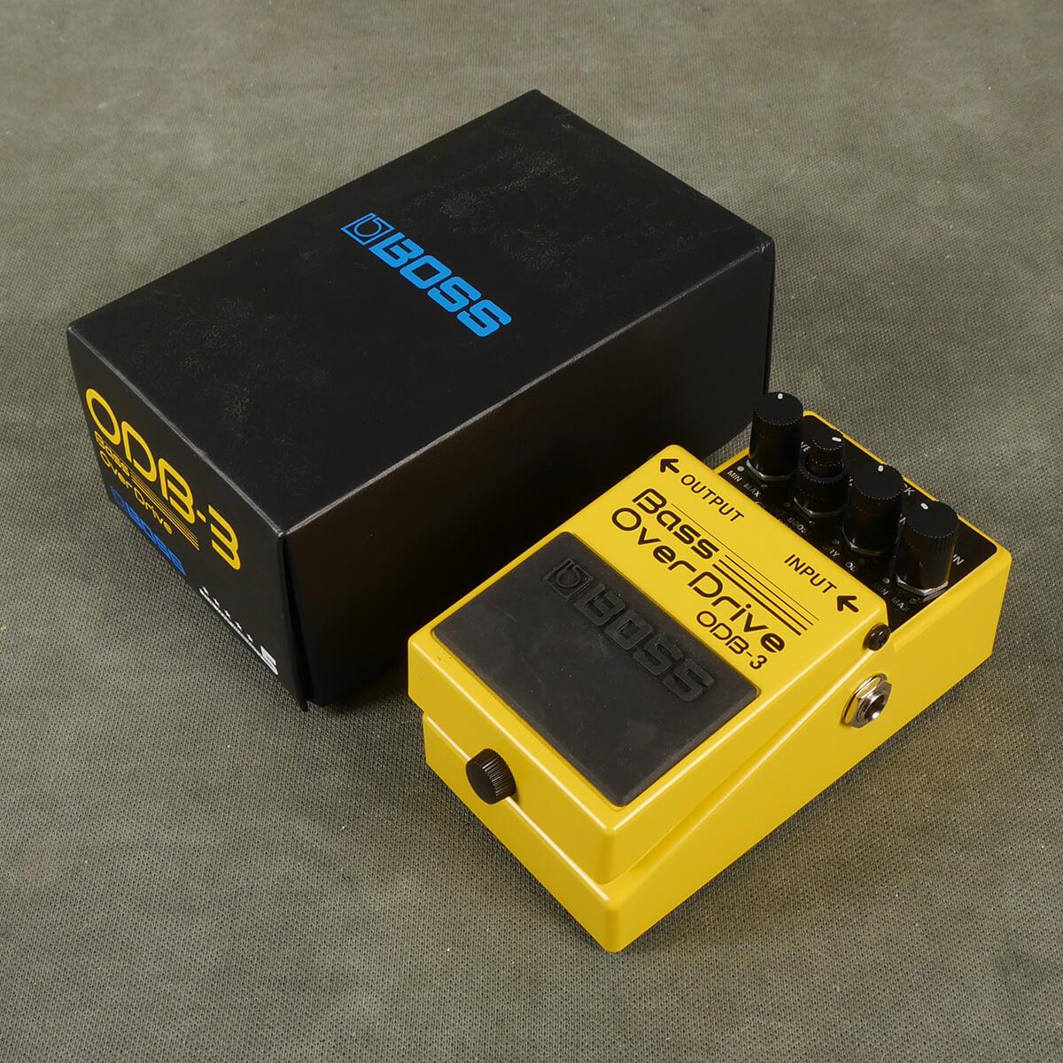 Boss ODB-3 Bass Overdrive FX Pedal w/Box - 2nd Hand